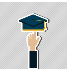education online design vector image vector image