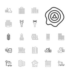 22 distribution icons vector