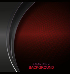abstract dark red mesh background curved curtains vector image