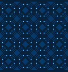 Computer chip pattern seamless chip vector