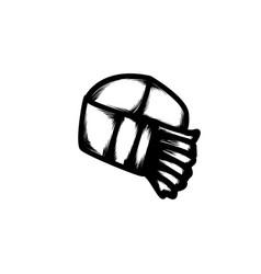 Hand drawn icon vector