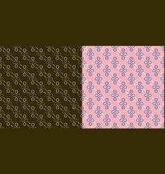 infinity circles texture vector image