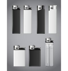 Lighters set vector