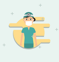 People medical profession vector
