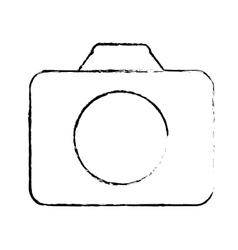 Photographic camera thumbnail icon image vector