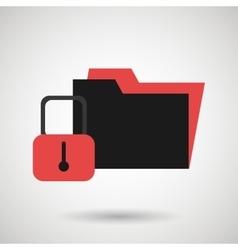security data design vector image