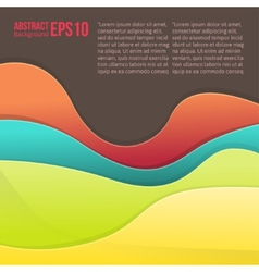 Abstract colorful light background forms a smooth vector image