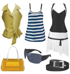 women fashion vector image vector image
