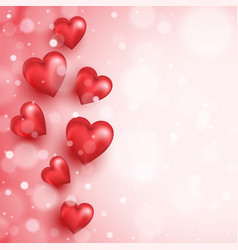 abstract background to valentine s day vector image