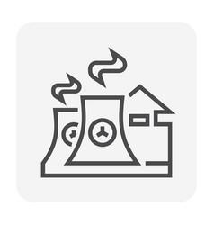 energy icon black vector image