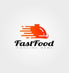 Fast food logo designfood icon vector