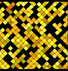 geometrical rounded square pattern - mosaic vector image