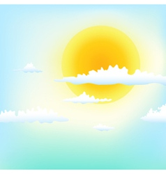 Good weather vector