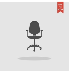 Office ichair icon vector image