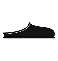 slippers icon simple vector image