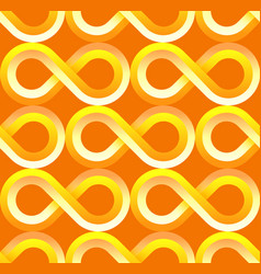 yellow fabric patterncool tech patterns design vector image