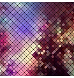 Bright colorful mosaic background vector image