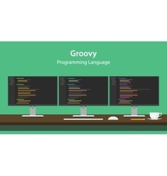Groovy programming language code vector