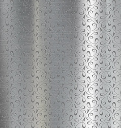 Metal plate engraved vector