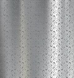 Metal plate engraved vector