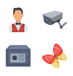 profession finance and other web icon in cartoon vector image