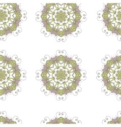 Seamless pattern Doodles abstract decorative vector image