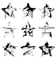 Star Single Set vector image