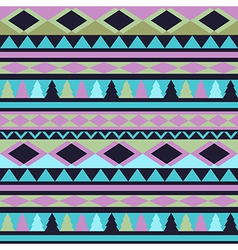 Seamless tribal texture Tribal pattern Colorful vector image