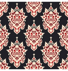 Damask seamless floral vector image vector image