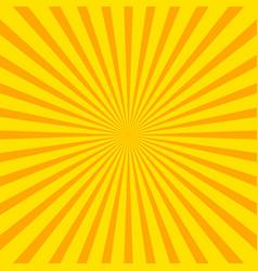 Bright starburst sunburst background with regular vector