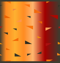 gradient triangle pattern seamless vector image