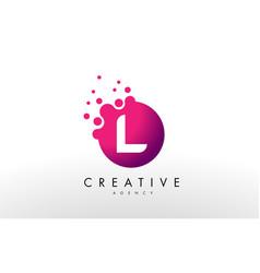 Letter l logo l letter design vector