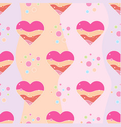 love print seamless pattern decorative pattern vector image