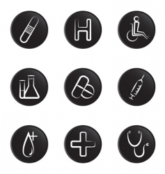 medical object icon vector image