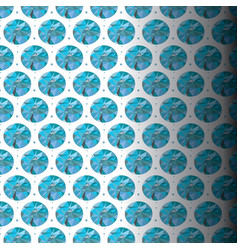 Patterned sapphire blue vector