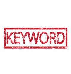 stamp text keyword vector image