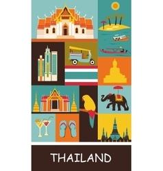 Symbols thailand vector