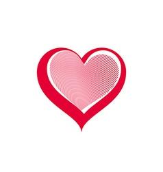 Valentines day conceptual art loving vector