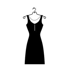 woman dress icon image vector image