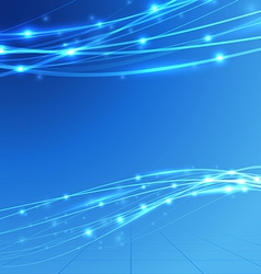 Bright speed bandwidth electric background vector image vector image