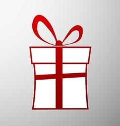 Gift box Stock vector image vector image