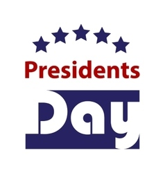 Presidents Day Icon EPS 10 stock vector image
