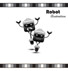 Robot clipart vector image vector image