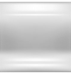 Dotted metal abstract background vector image