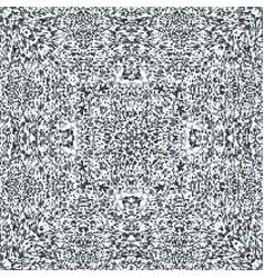 television noise glitch mandala pattern vector image vector image