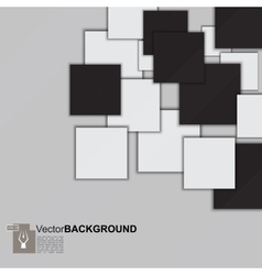 Square mosaic abstract background vector