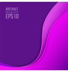 Abstract purple light background forms a smooth vector