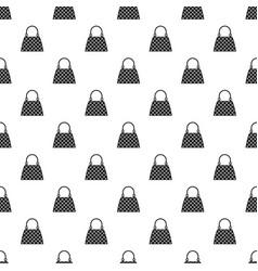 Beautiful bag pattern vector