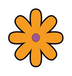 Beutiful flower gardening vector