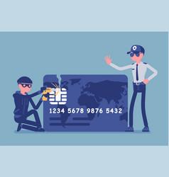 Credit card hacking vector